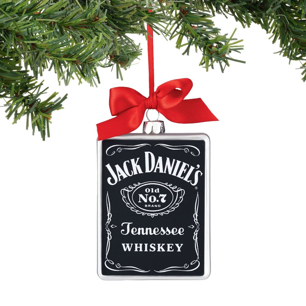 Department 56 Jack Daniel's Old No 7 Rectangle Christmas Ornament 4052193